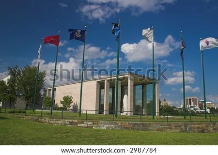 richmond war memorial - stock photo