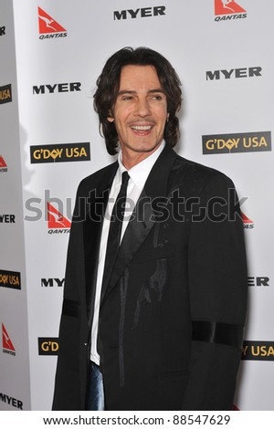 Rick Springfield at the 2010 G'Day USA Australia Week Black Tie Gala at the Grand Ballroom at Hollywood & Highland. January 16, 2010  Los Angeles, CA Picture: Paul Smith / Featureflash - stock photo