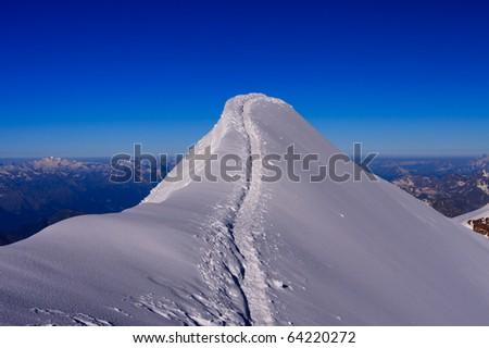 Ridge - stock photo