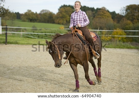 Riding - stock photo
