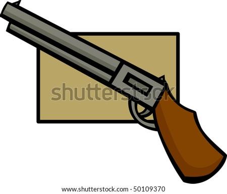 rifle gun or shotgun - stock photo