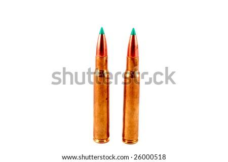 rifle projectile - stock photo