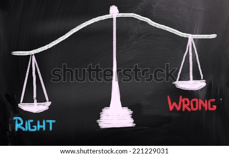 Right Concept - stock photo