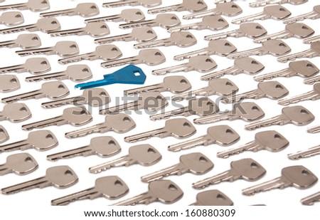 Right key concept - stock photo