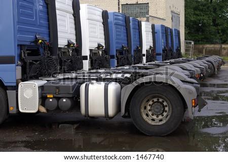 rigs - stock photo