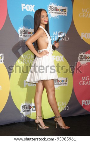 RIHANNA at the 2006 Billboard Music Awards at the MGM Grand, Las Vegas. December 4, 2006  Las Vegas, NV Picture: Paul Smith / Featureflash - stock photo