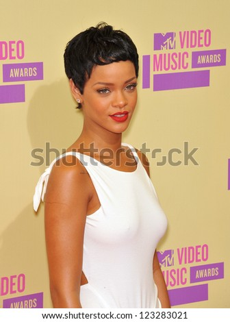 Rihanna at the 2012 MTV Video Music Awards at Staples Center, Los Angeles. September 6, 2012  Los Angeles, CA Picture: Paul Smith