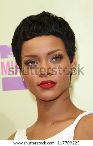 Rihanna at the 2012 Video Music Awards Arrivals, Staples Center, Los Angeles, CA 09-06-12