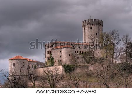 Rihemberk castle - stock photo