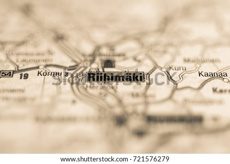 Barnsley On Map Stock Photo 710841052 Shutterstock