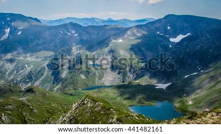 Rila mountain, Bulgaria - stock photo