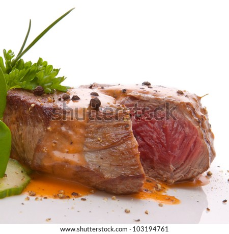 Rinderfilet - stock photo