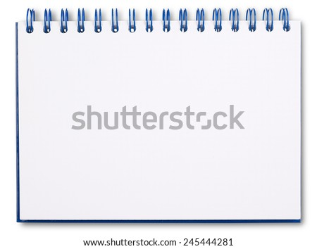 Ring binder - stock photo