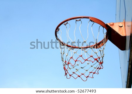 Ring of Basketball in Thailand - stock photo