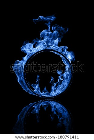 Ring of blue fire