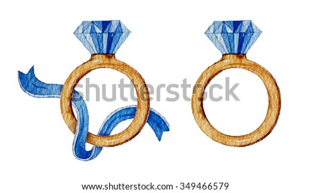Watercolor Diamonds Stock Images Royalty Free Images