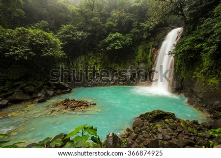 Rio Celeste - stock photo