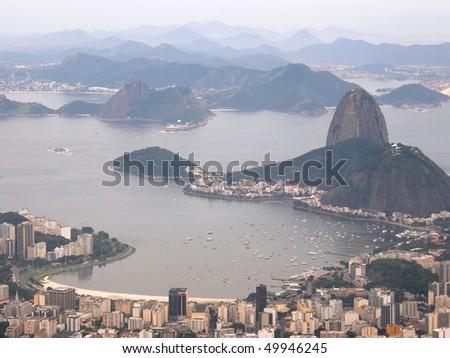 Rio De Janeiro: aerial view - stock photo