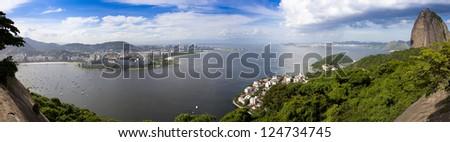 Rio de Janeiro Landscape - stock photo