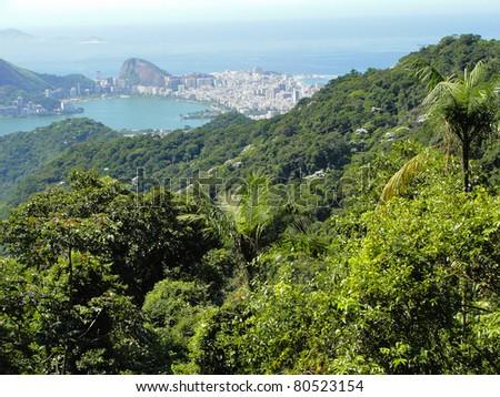 Rio de Janeiro landscape - Brazil - stock photo