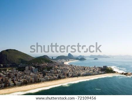 Rio De Janeiro's Dramatic Beaches - stock photo
