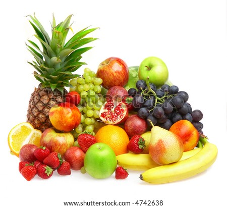 Ripe fresh fruit. Wholesome food. - stock photo