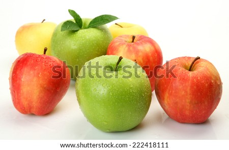 ripe fruit for a healthy diet - stock photo