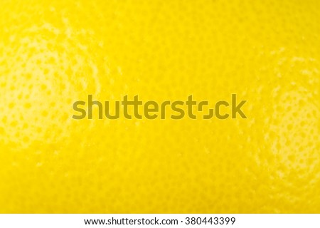 Ripe Lemon Background - stock photo
