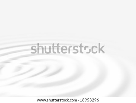 rippled abstract milk or cream background - stock photo