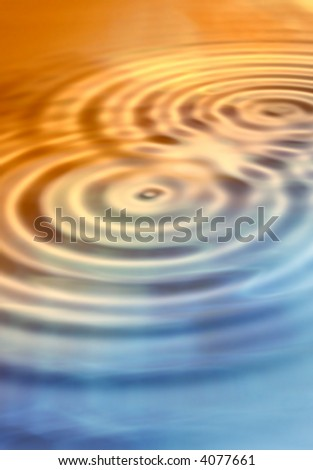 Rippled universe - useful as background