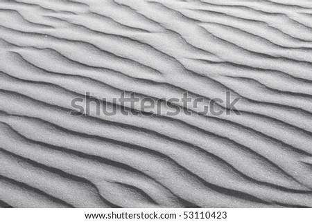 Rippled White Sand Texture
