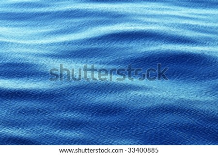 Ripples on ocean water surface, good like background, - stock photo
