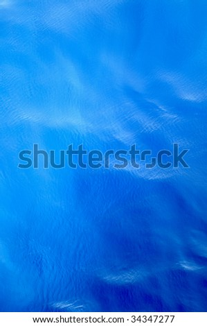 Ripples on ocean water surface, good to use like background. - stock photo