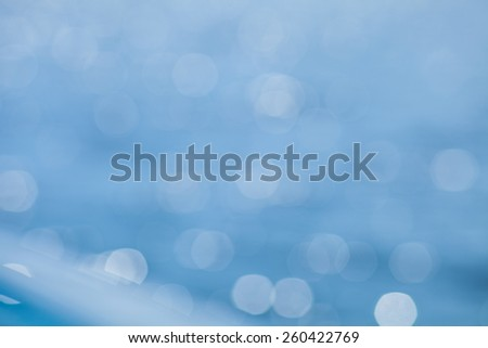rippling blue water background blur - stock photo