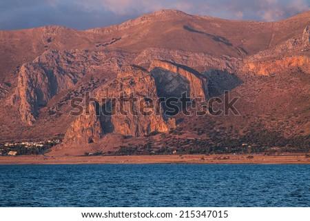 Riserva Monte Cofano - stock photo