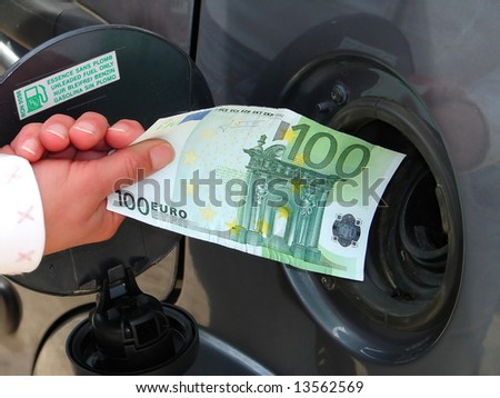 rising fuel prices - stock photo