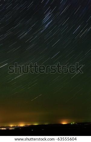 Rising stars - stock photo