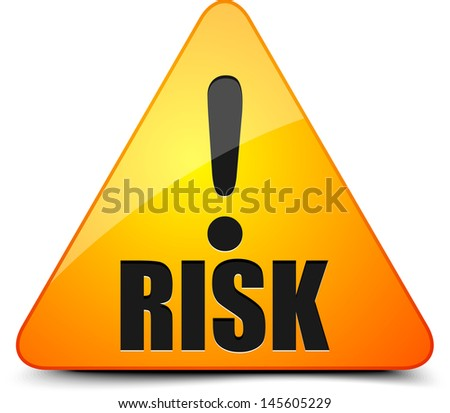 Risk! - stock photo