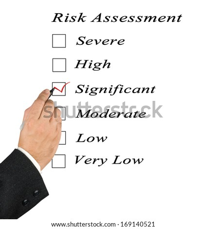 Risk assessment checkbox