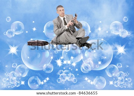 Risk financial investments - stock photo