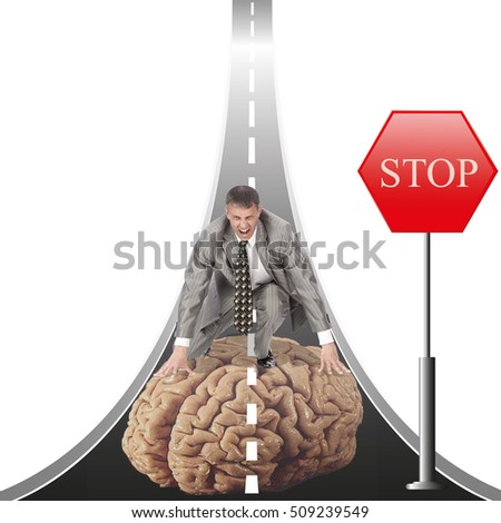 Risk high human mind for people