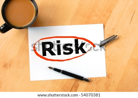 risk in financial business investment is dangerous