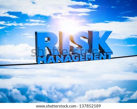 Risk management Concept - stock photo