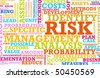 Risk Management Corporate Concept as a Abstract - stock photo