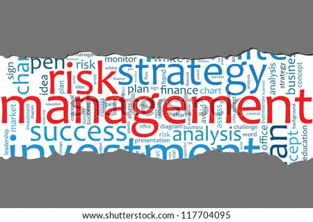 the concept of managing risk management essay Risk management essay  uncertainty management is a more descriptive term of  the risk management process, and more appropriate for managing the sources.
