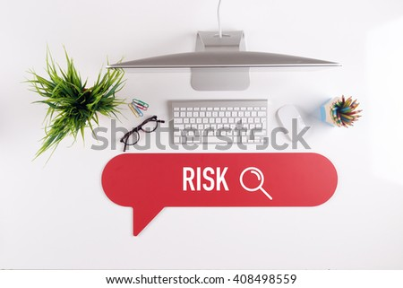 RISK Search Find Web Online Technology Internet Website Concept - stock photo