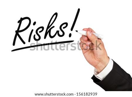 Risks ! - stock photo