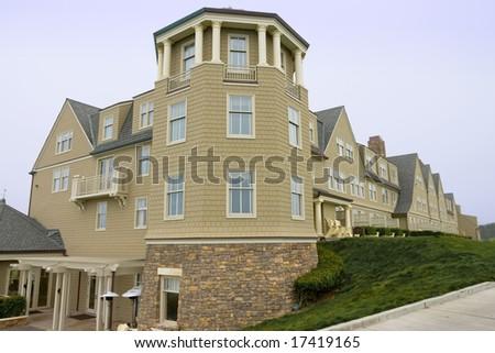 Ritz Carlton, Half Moon Bay, California - stock photo
