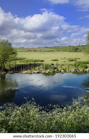 river avon - stock photo