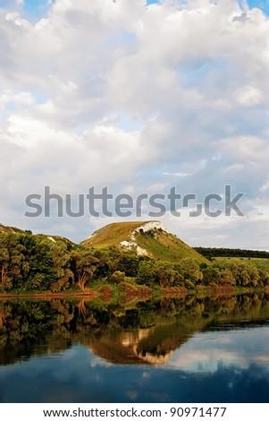 River bank - stock photo